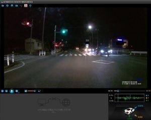 DRV-240で撮った夜の動画を解析