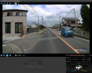 DRV-240で撮った昼の映像を解析