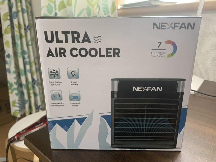 nexfan air coolerのパッケージ